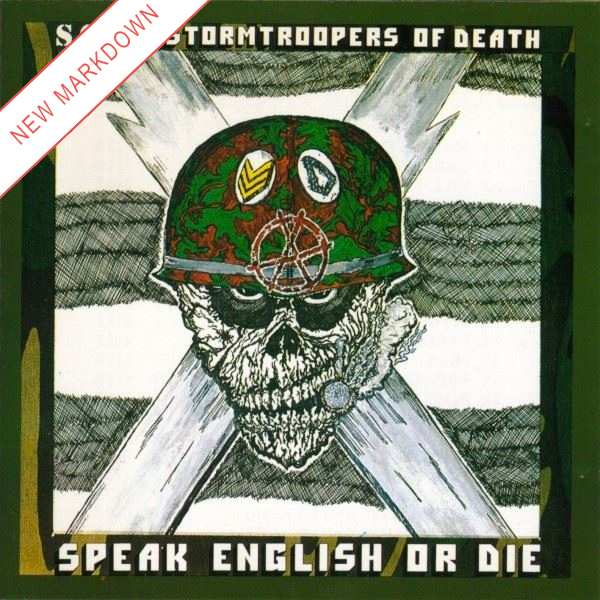 S.O.D. - Speak English or Die 2xLP *Markdown*