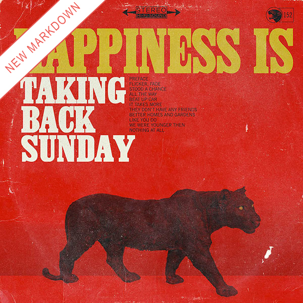 Taking Back Sunday - Happiness Is LP *Markdown*