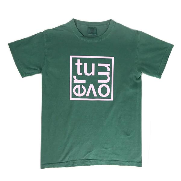 a5b4a6e75 Turnover - Box Logo Shirt (Green)