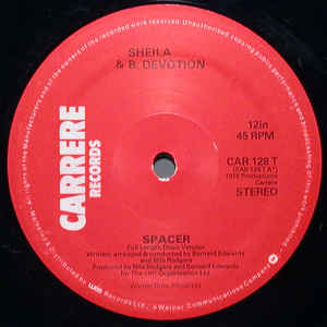 Sheila & B. Devotion ‎– Spacer (Carrere)