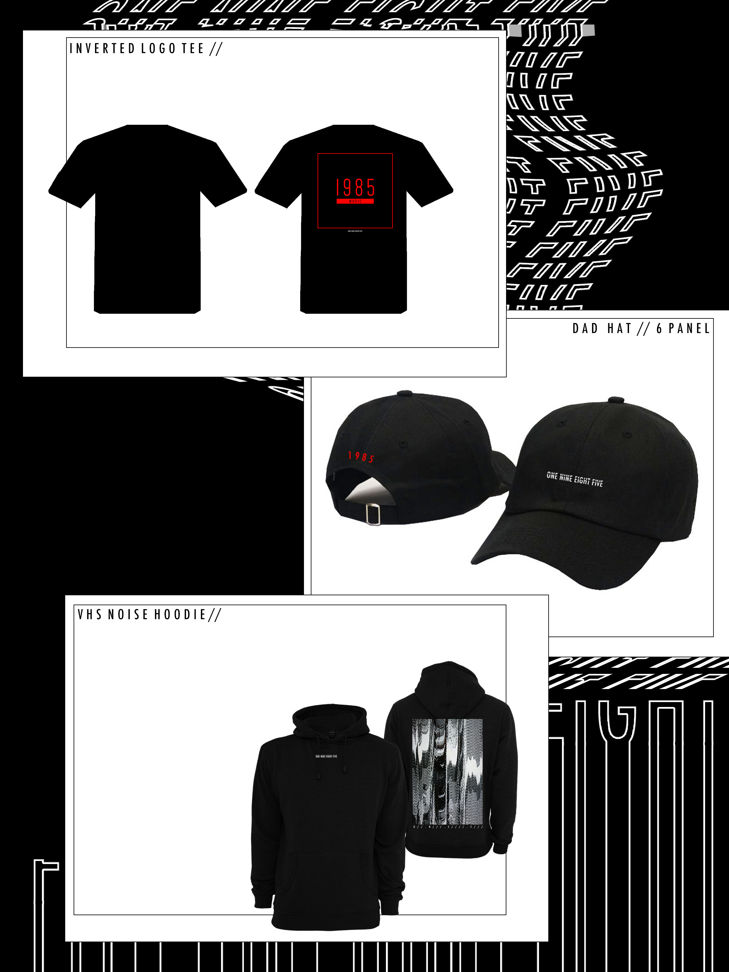 Capsule / 01 (Hoodie, Tee and Hat Bundle)