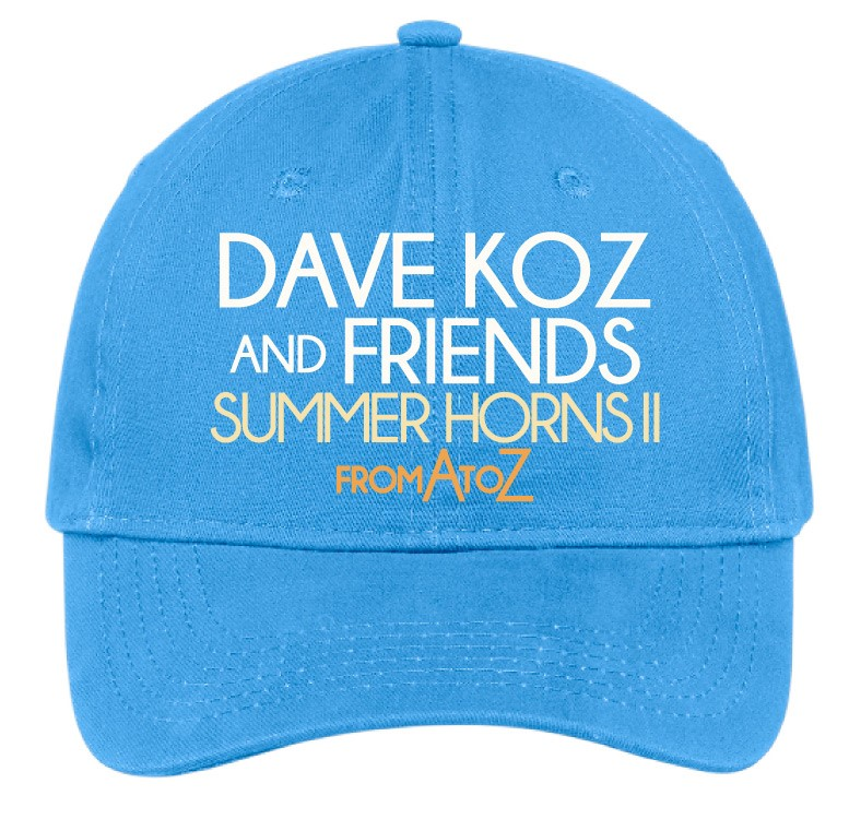 "Embroidered ""Summer Horns II"" Cap + Digital Download"