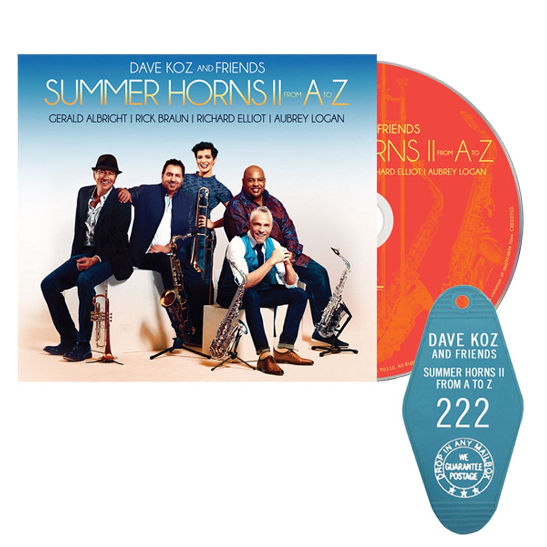 """Summer Horns II From  A To Z"" CD + Hotel Key"