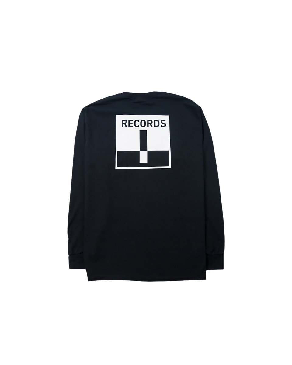 Long Sleeve Pocket Tee - Black