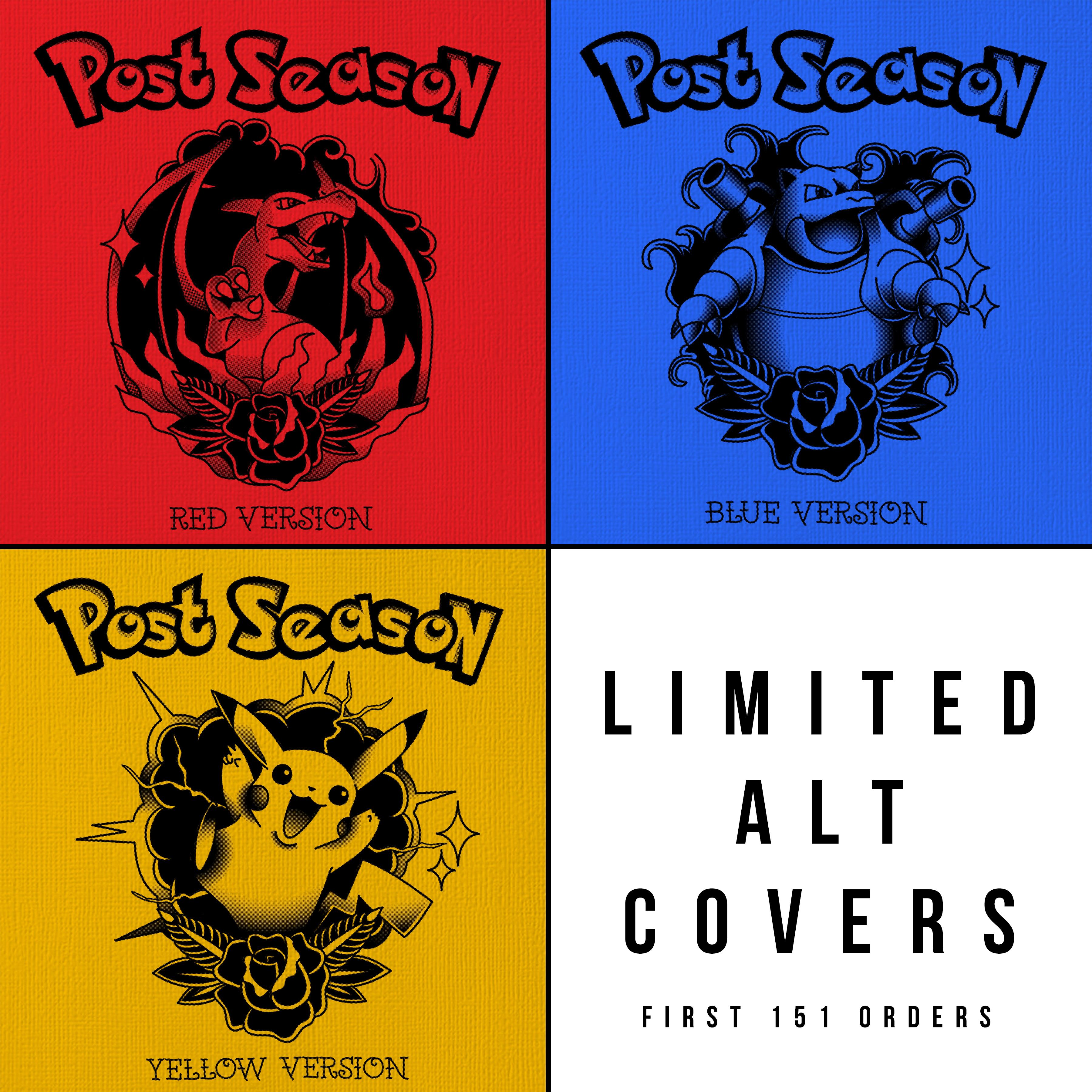 Post Season // S/T LP // Navy Shirt Bundle