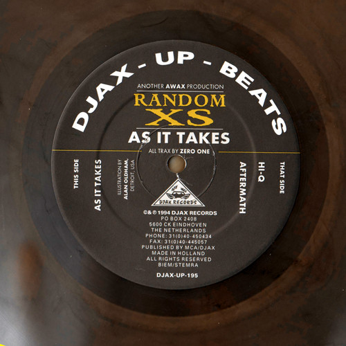 Random XS ‎– As It Takes (Djax-Up-Beats)