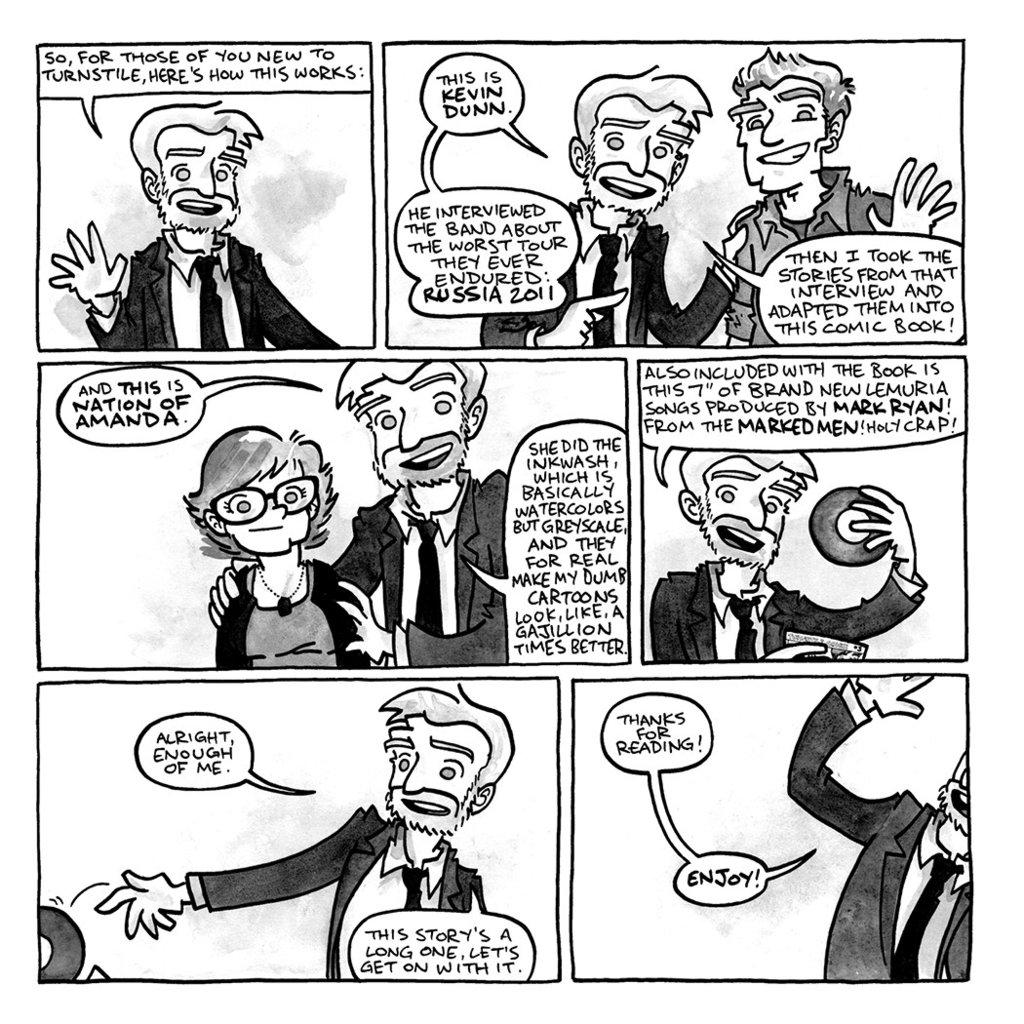 Lemuria : turnstile comix #3