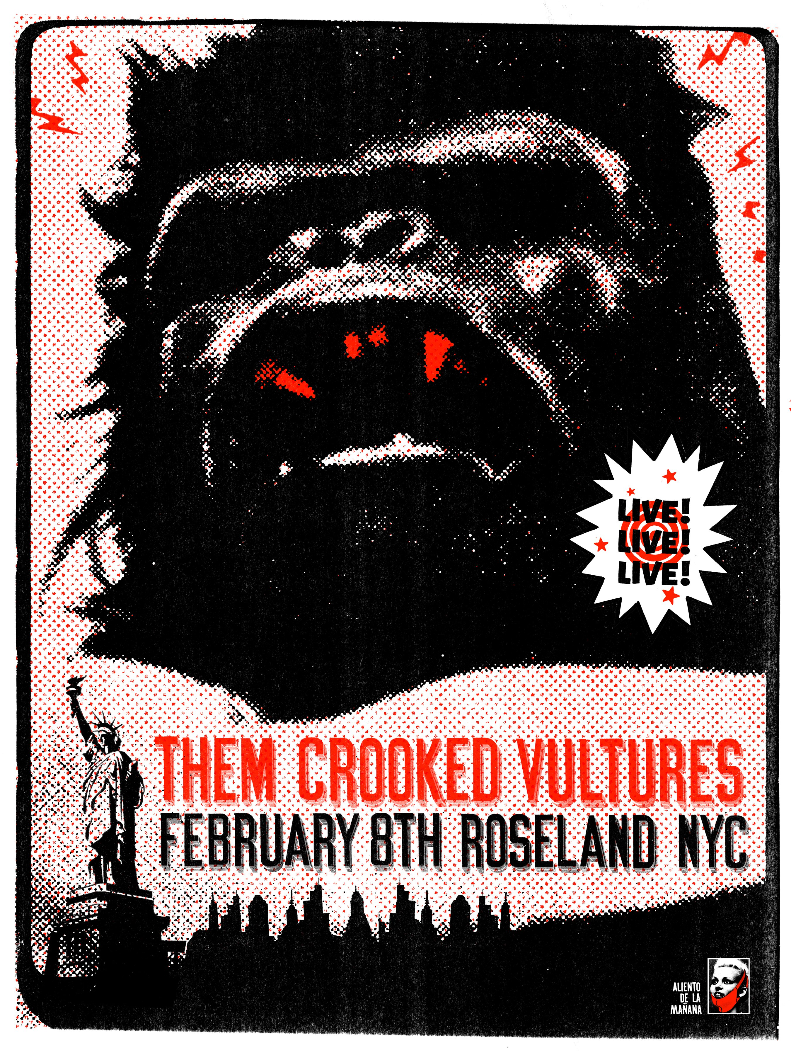 THEM CROOKED VULTURES NYC