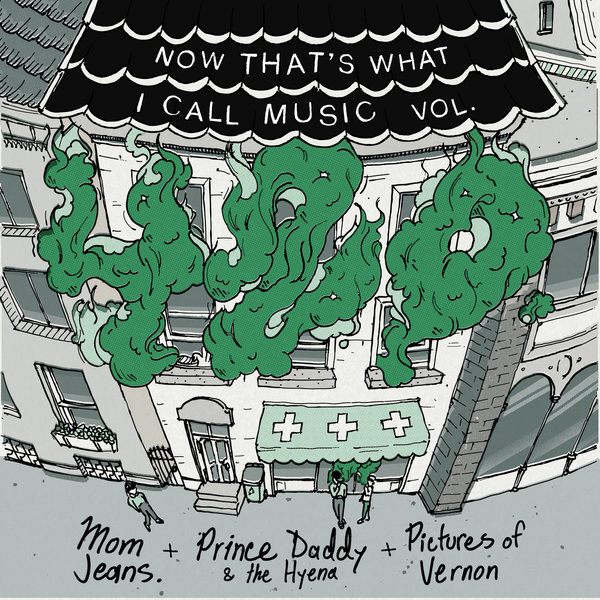 Prince Daddy / Mom Jeans / Pictures of Vernon Split - White 10