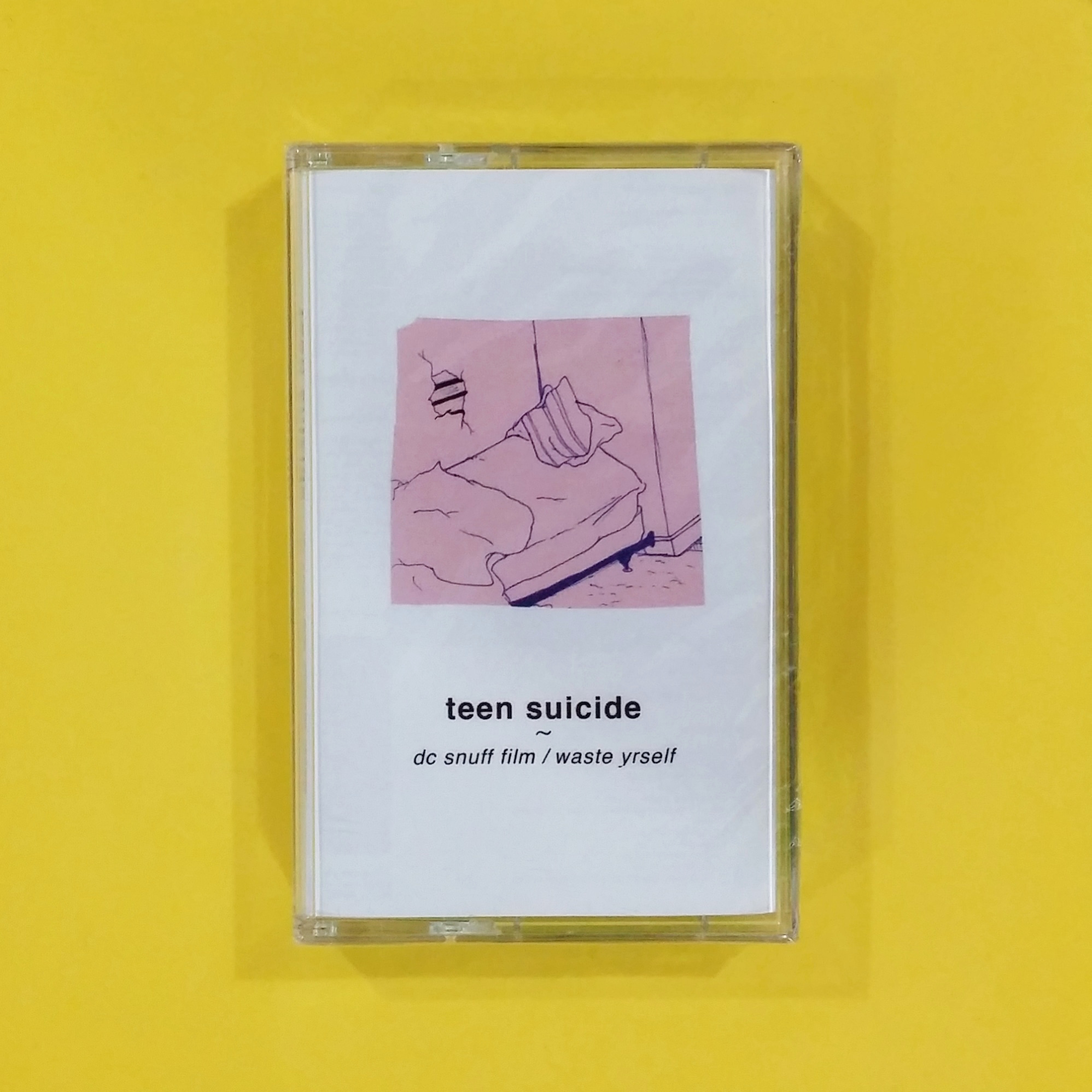 [SOLD] teen suicide - dc snuff film / waste yrself (Run for Cover Records)