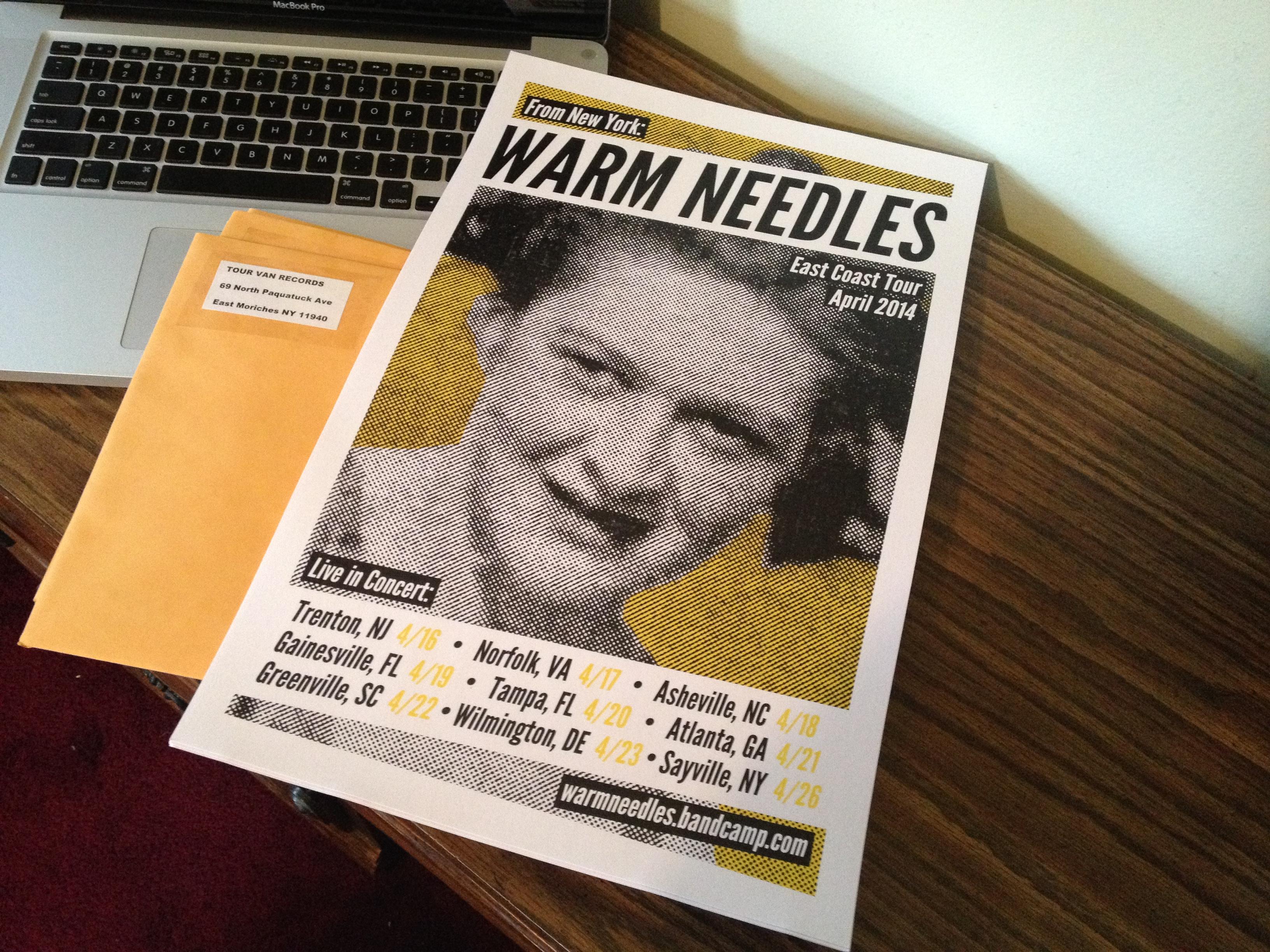 Warm Needles Poster