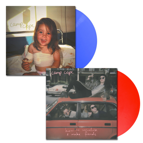 Camp Cope - How To Socialise & Make Friends + S/T Bundle