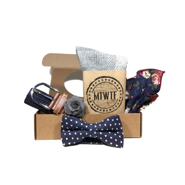 Full Box Set Bow Tie - Assorted — $49