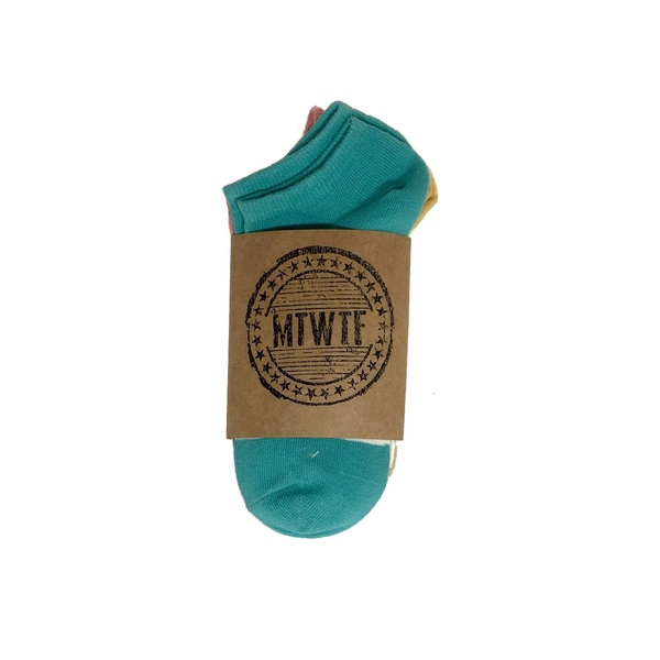 Pastel Strip Socks 3-pack — $24