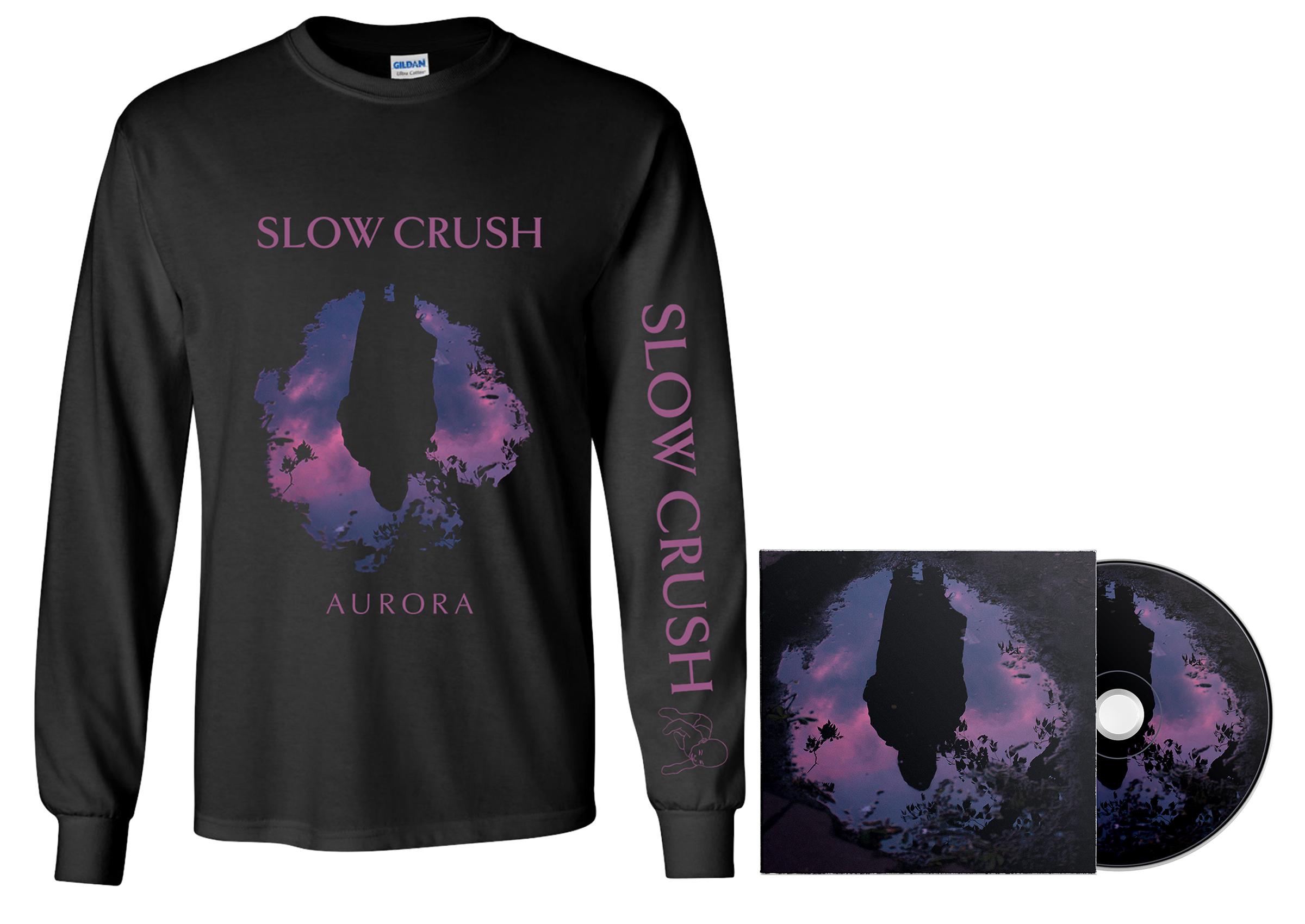 Slow Crush - Aurora CD + long sleeve