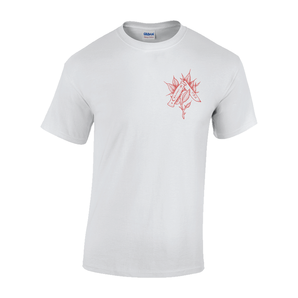 Knife Tee (white)