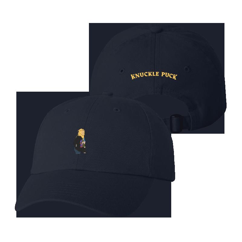 Navy Flower Girl Hat