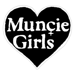 Muncie Girls - Heart Logo Embroidered Patch