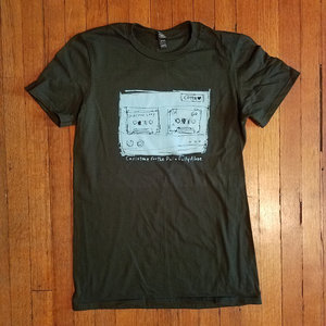 CASIOTONE FOR THE PAINFULLY ALONE- Forest Green Answering Machine Shirt