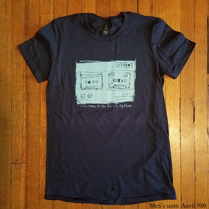CASIOTONE FOR THE PAINFULLY ALONE- Navy Blue Answering Machine Shirt