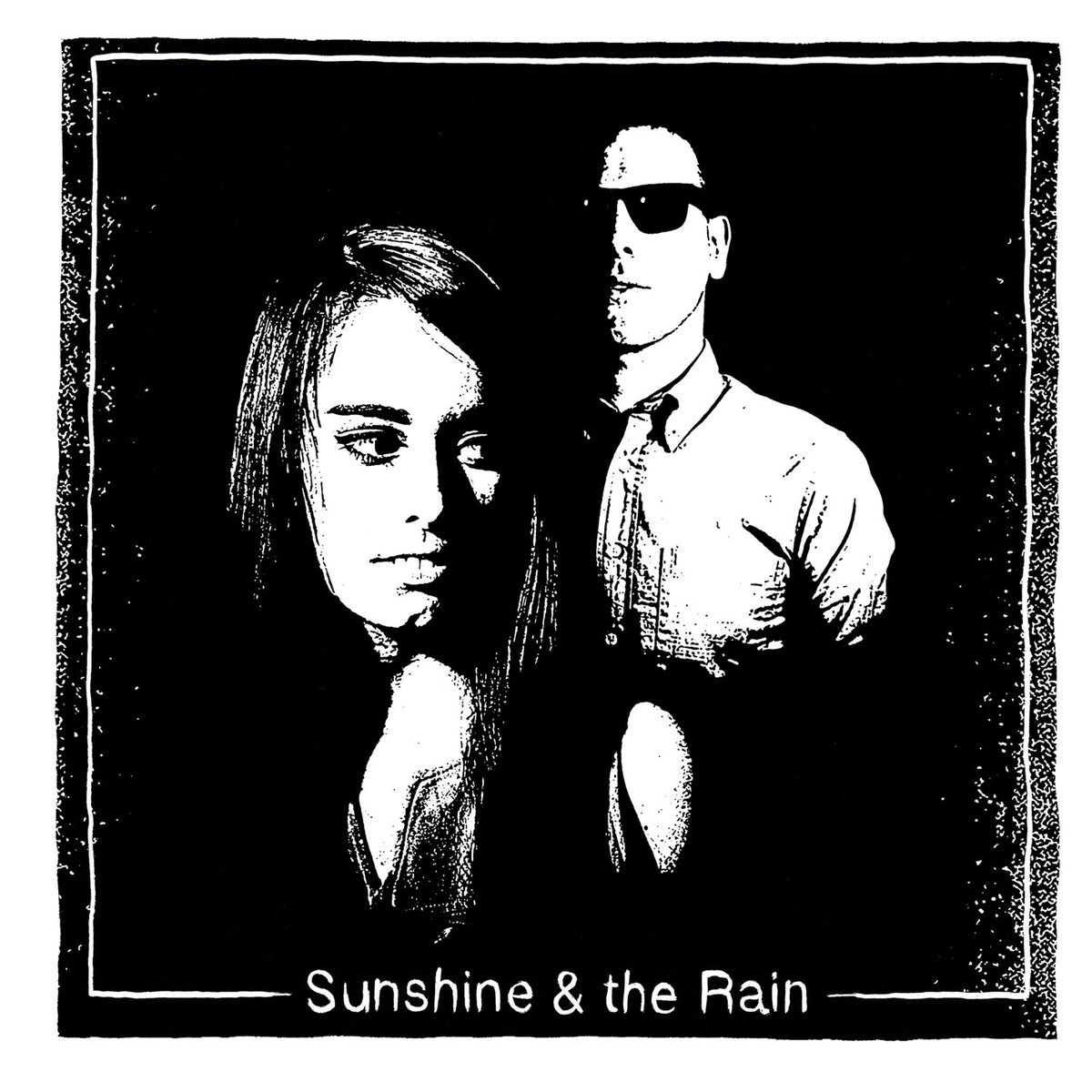 Sunshine & The Rain - Can't Stop Thinking About You B/W Pale Blue Skies