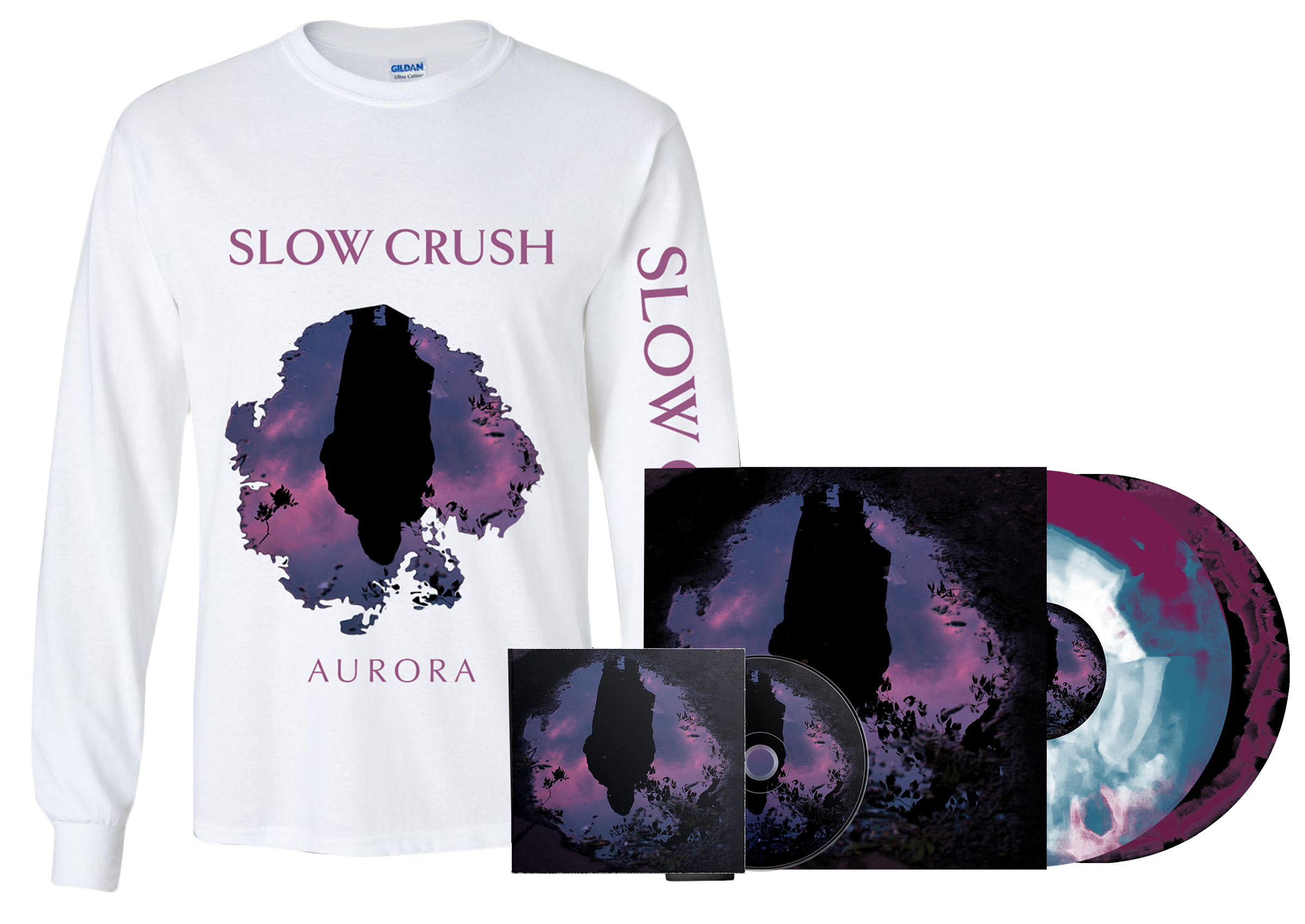 Slow Crush - all formats + long sleeve