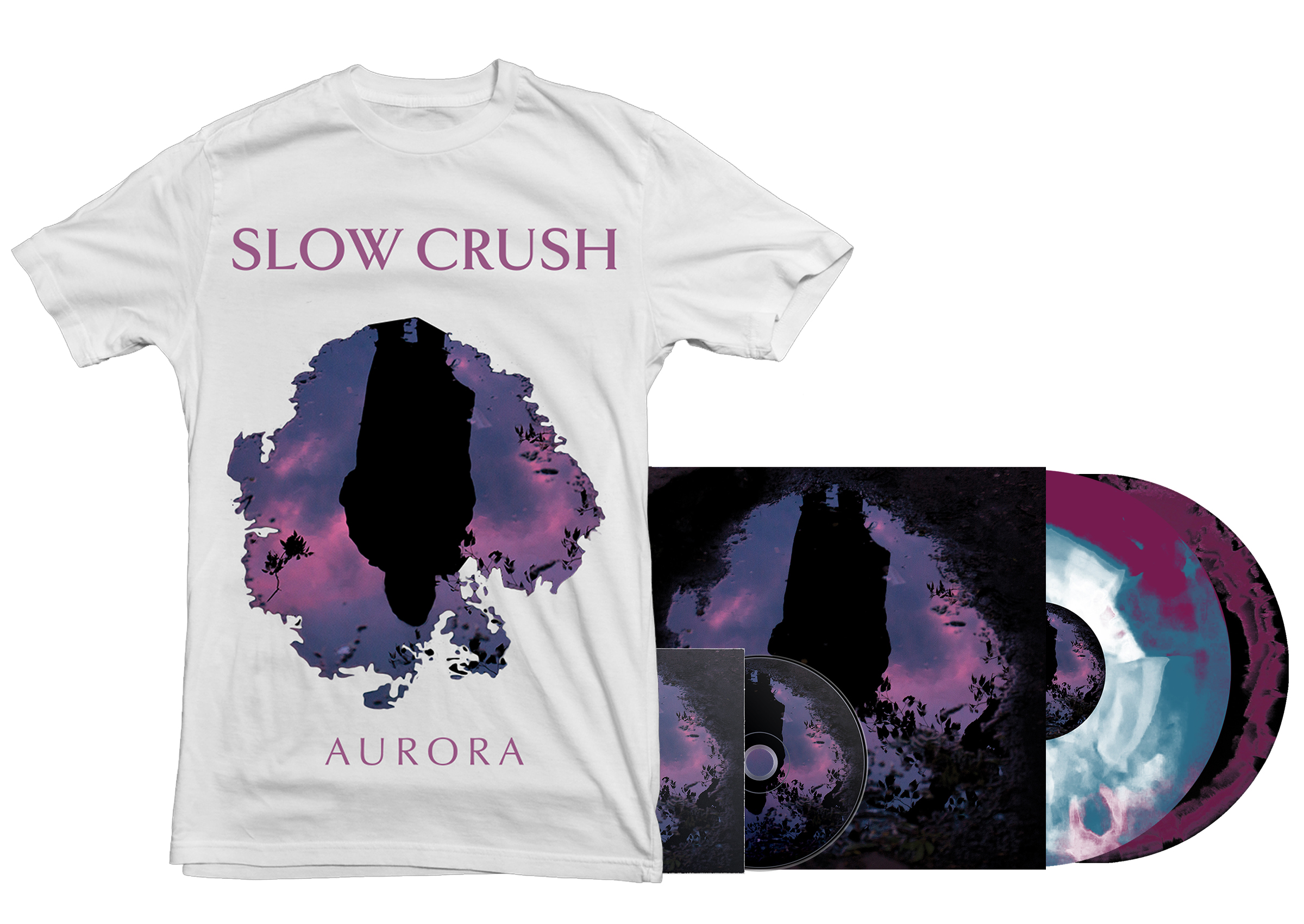 Slow Crush - all formats + shirt
