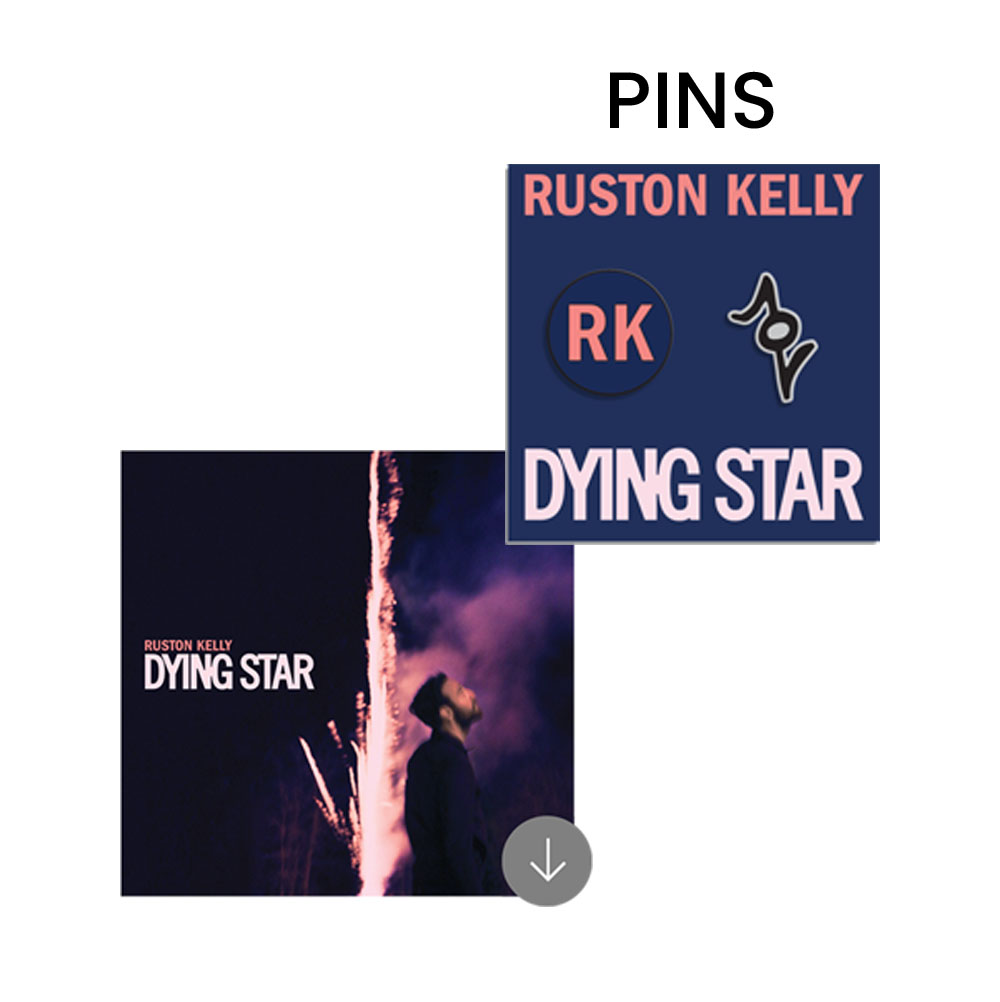 Enamel Pin Set (2 Pins) + Album Download
