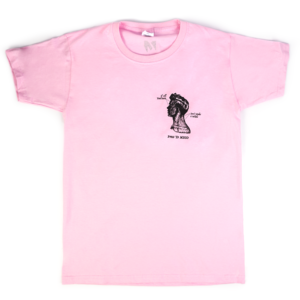 'If All Your Parts Don't Make A Whole' Pink T-shirt