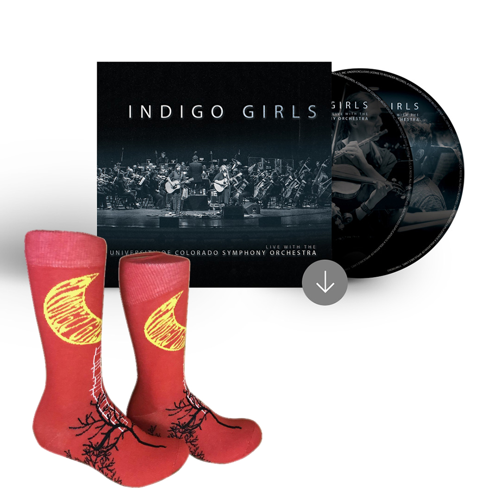 Signed 2xCD + socks
