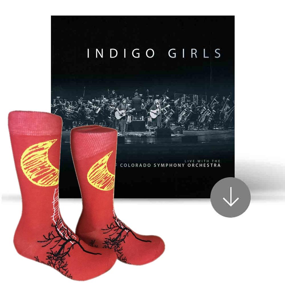 Custom Socks + Live Album Download
