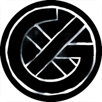 Guerilla Poubelle - badge Crass