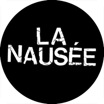 Guerilla Poubelle - badge La Nausée