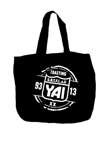 YAI - Anniversary Tote Bag (Black)