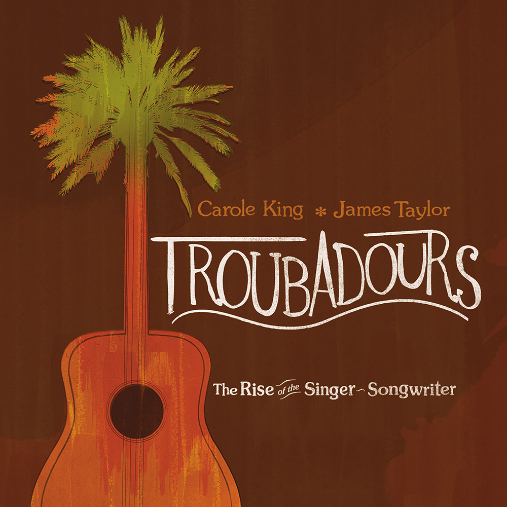 "James Taylor ""Troubadours: The Rise Of The Singer-Songwriter"""