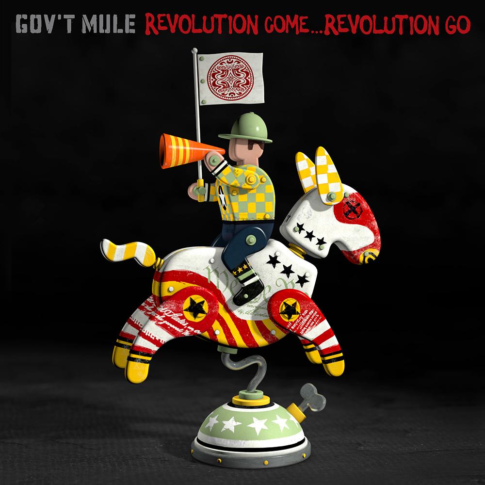 """Gov't Mule """"Revolution Come...Revolution Go"""""""