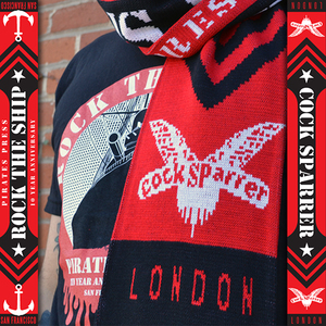 Rock The Ship Scarf- Cock Sparrer