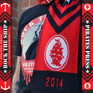 Rock The Ship Scarf- Pirates Press