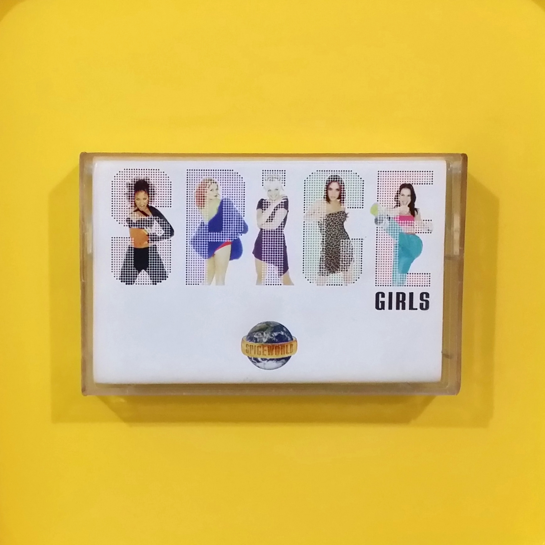 [SOLD] Spice Girls - Spiceworld // Used Tape