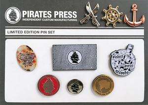 Pirates Press Limited Edition Pin Set