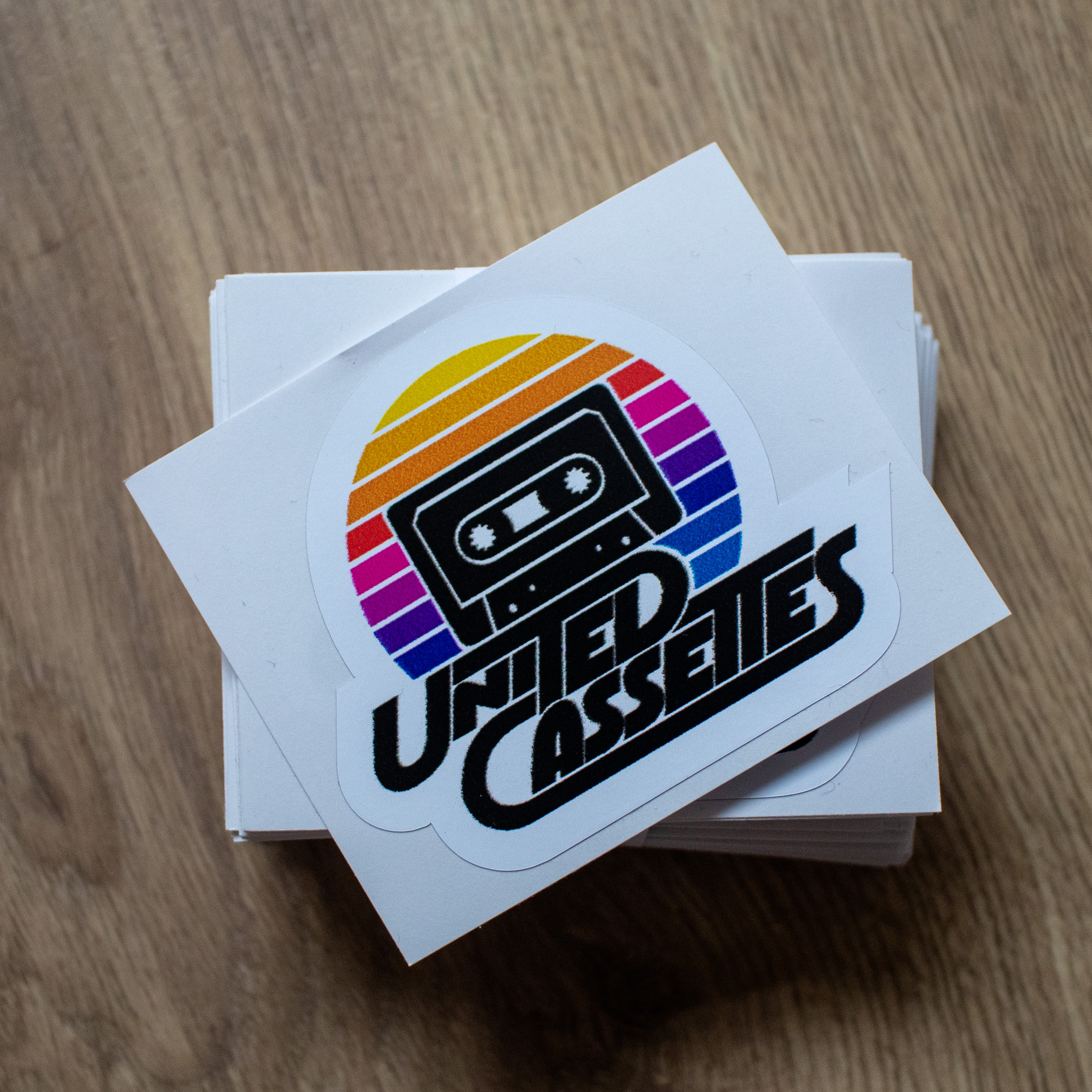 United Cassettes Stickers (Triple Pack)