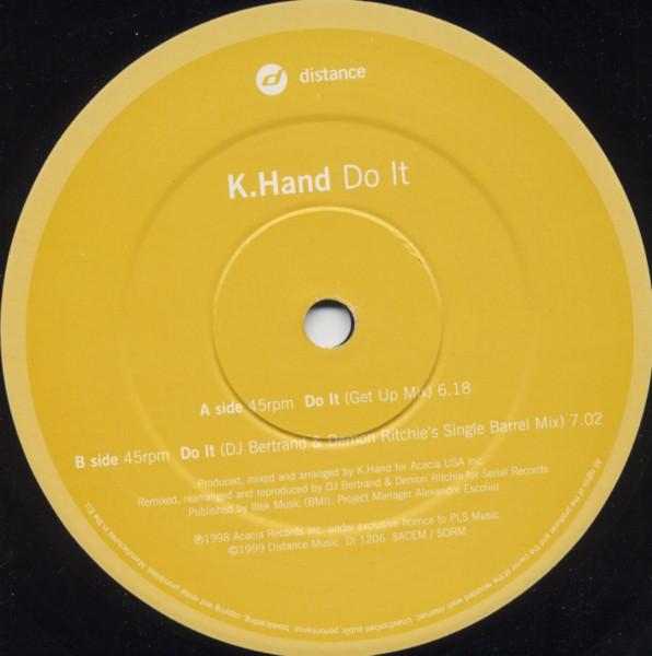 K. Hand – Do It (Distance)