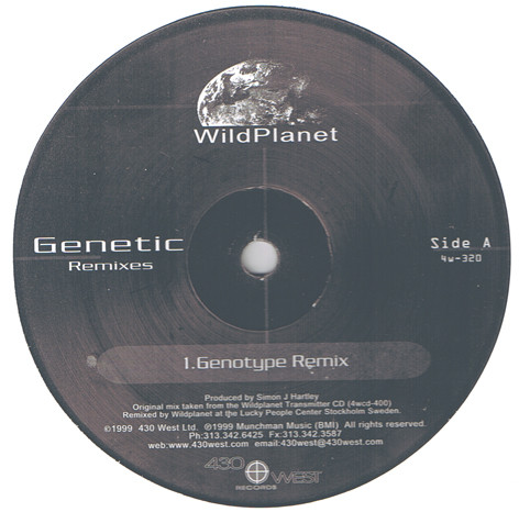 Wild Planet ‎– Genetic Remixes (430 West)