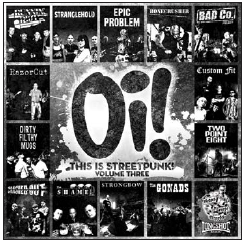 Oi! This is Streetpunk, Volume Three.