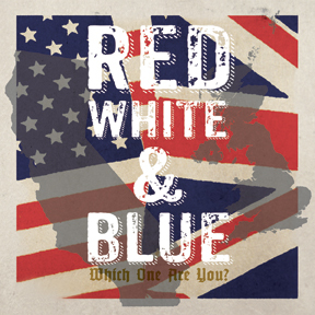 Red, White, & Blue- 2x7