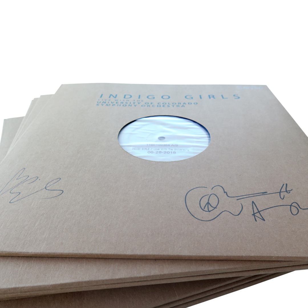 Signed Live with the University of Colorado Symphony Orchestra 3xLP Test Pressing + Color 3xLP Bundle (less than 10 in stock)