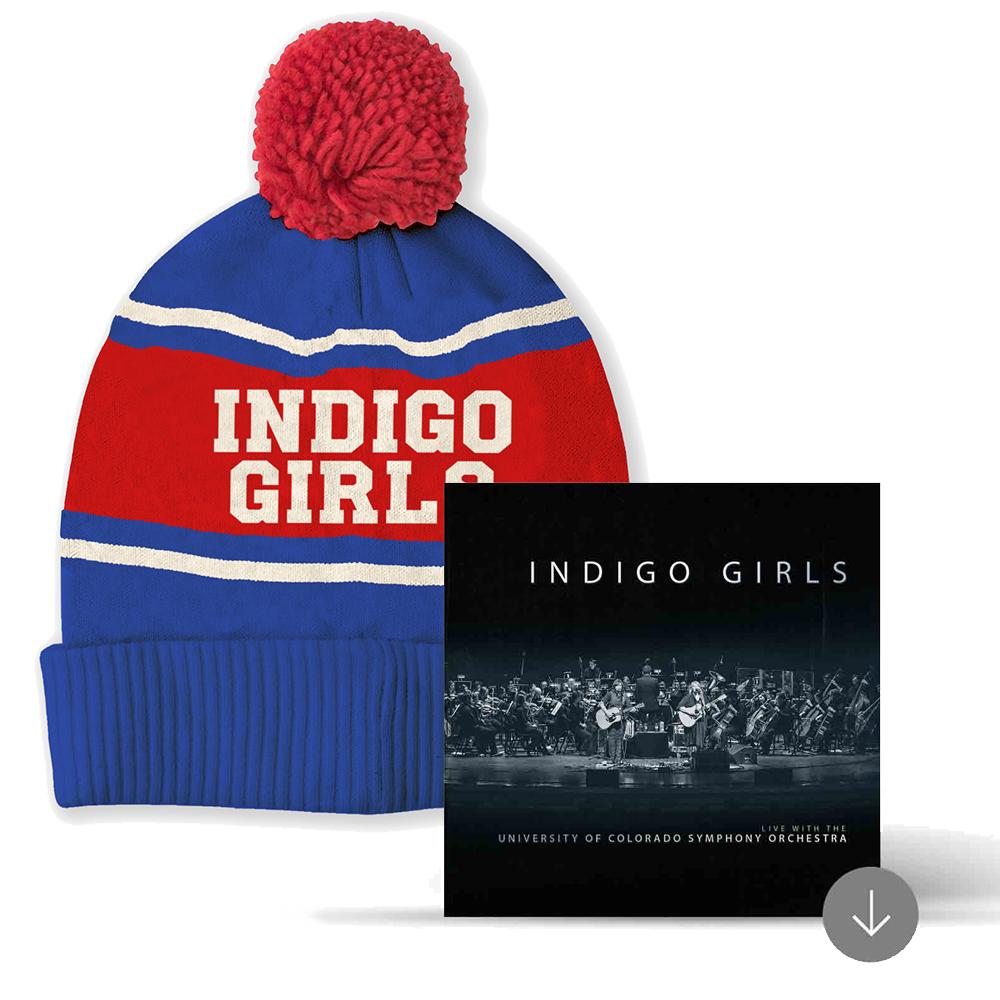 296a807c21d Wisco Knit Hat + album download - Indigo Girls