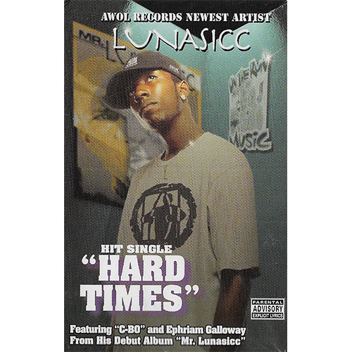 Lunasicc - Hard Times (Cassette Maxi-Single)