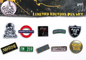 Pirates Press Records Limited Edition Pin Set #2