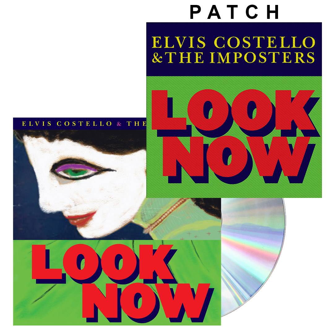Look Now CD + Patch